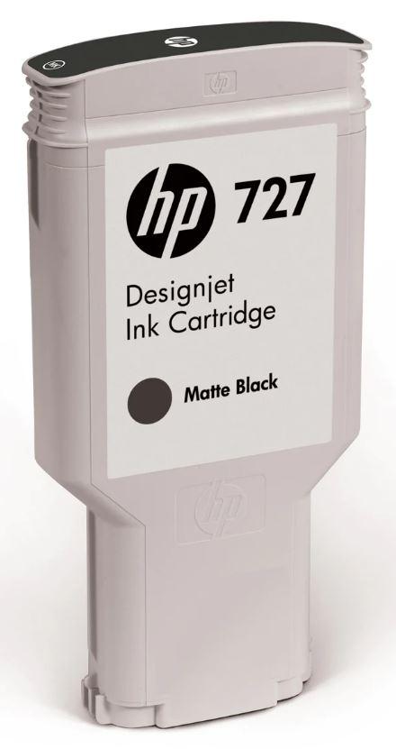 No. 727 300-ml Matte Black DesignJet Ink Cartridge