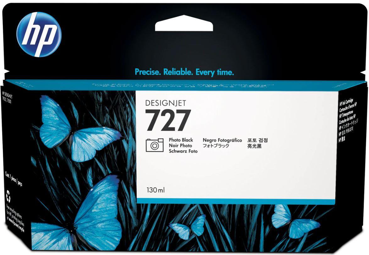 No. 727 130-ml Photo Black DesignJet Ink Cartridge