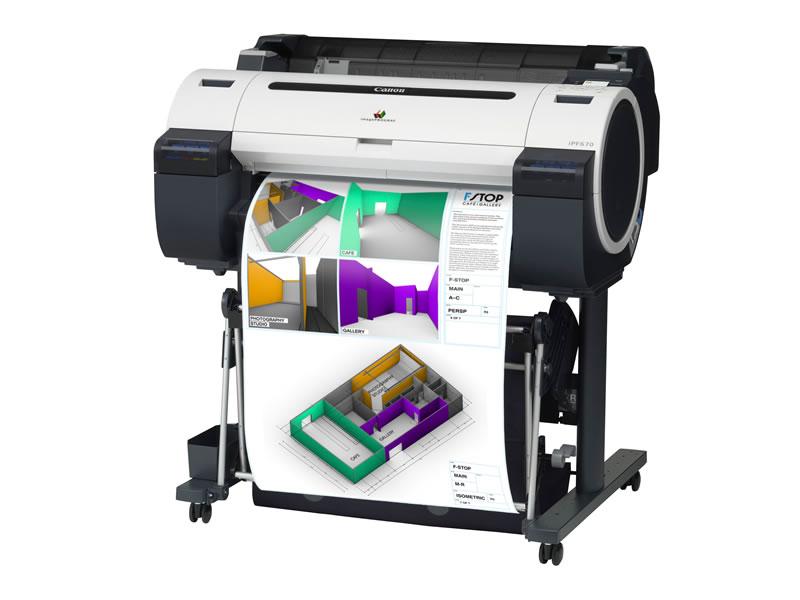 Canon  imagePROGRAF iPF670 24 inches 5-colour A1 Printer