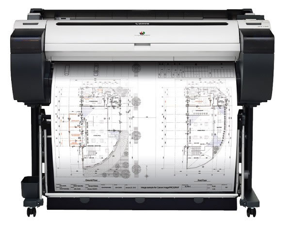 Canon  imagePROGRAF iPF685 (24 inches) 5-colour Large Format Printer