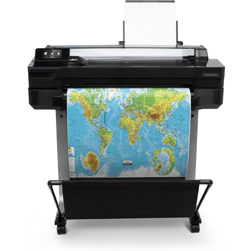HP DesignJet T520 A1 (24 in) Large Format Printer