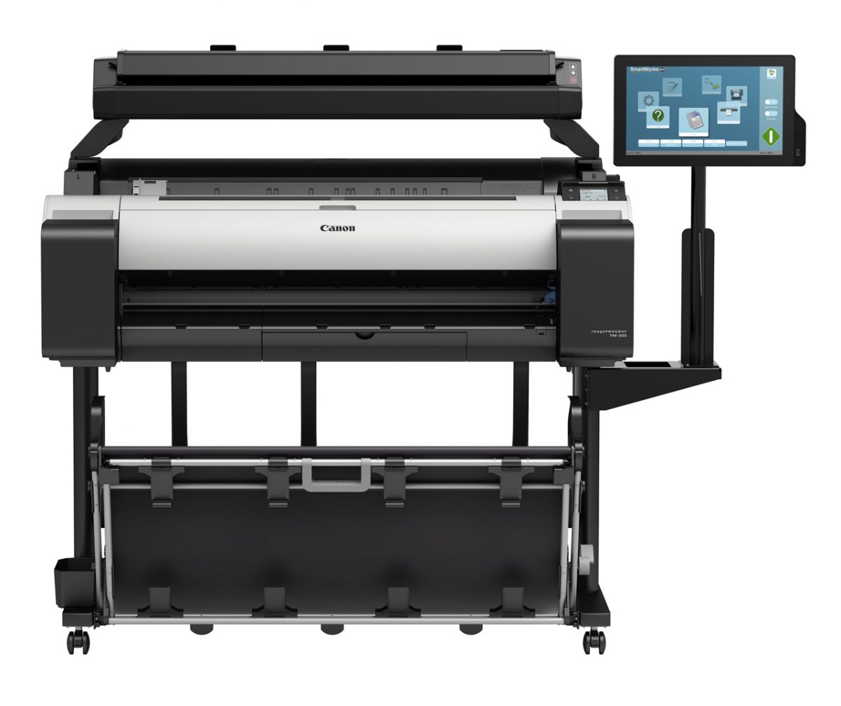 Canon  imagePROGRAF TM-305 MFP T36 Scan and Print