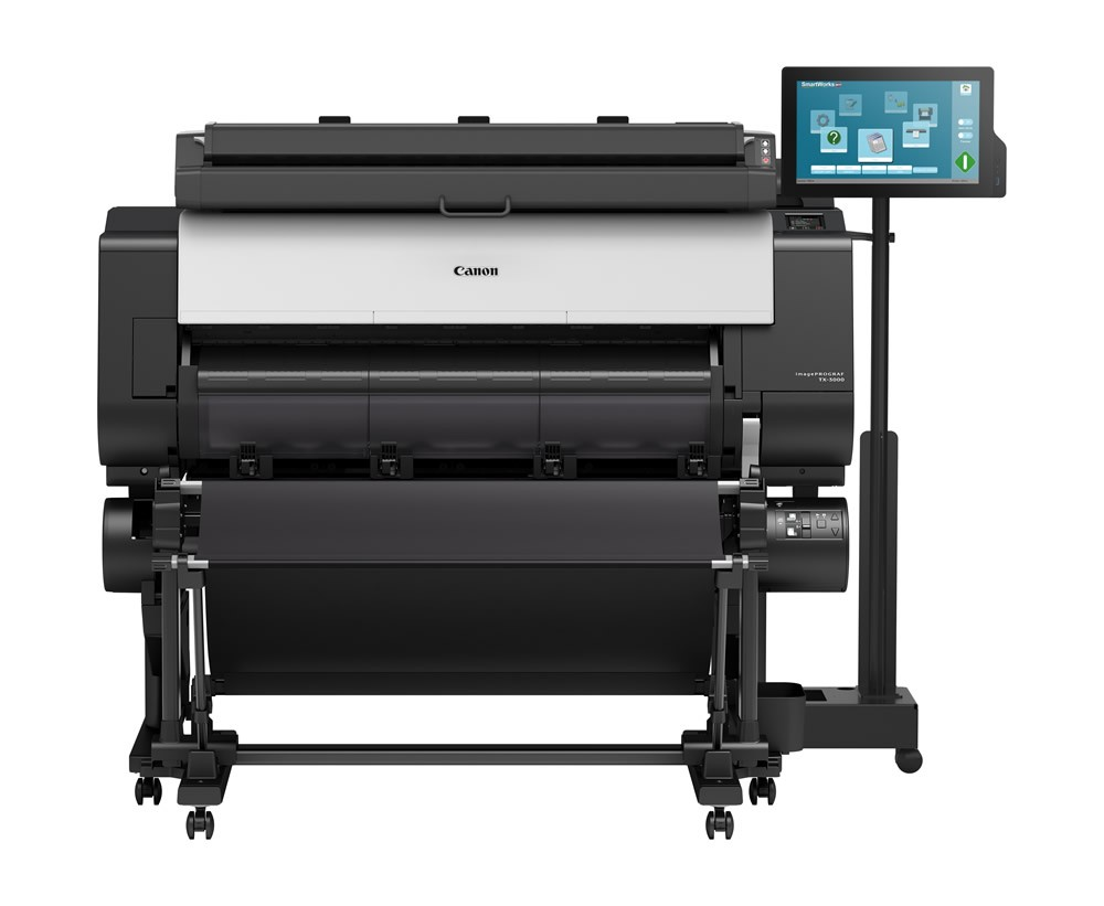 Canon  imagePROGRAF TX-4000 MFP T36 Scan and Print (36 inch scan, 44 inch print)