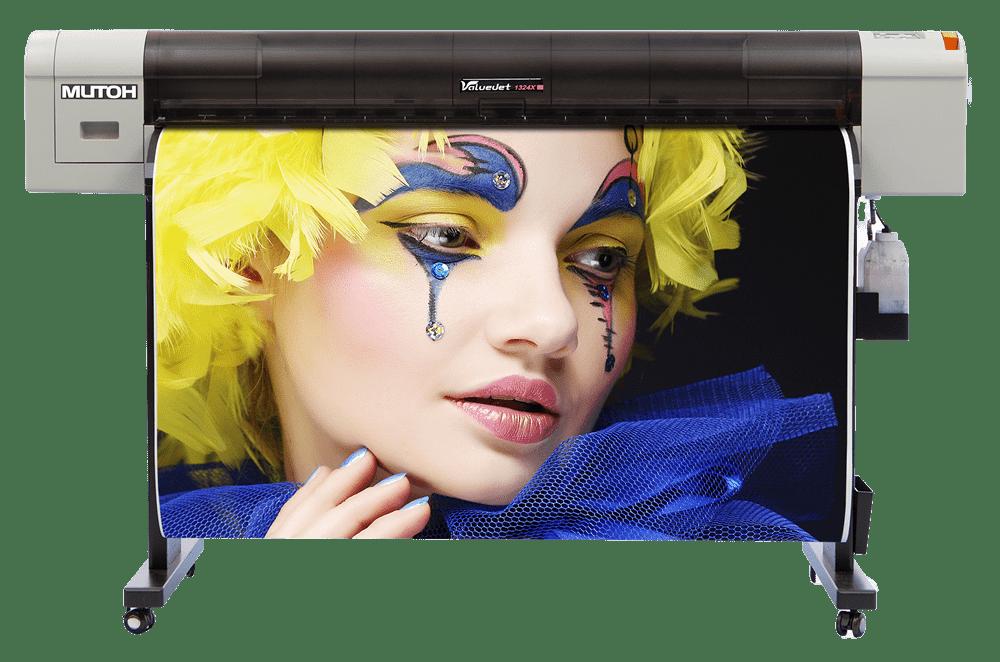 Mutoh ValueJet VJ-1324X (56 inch) Sign & Display Large Format Printer