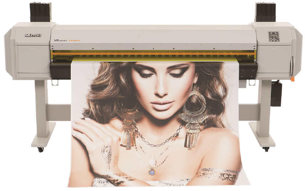 Mutoh ValueJet VJ-1638UH LED UV (64 inch) Large Format Printer