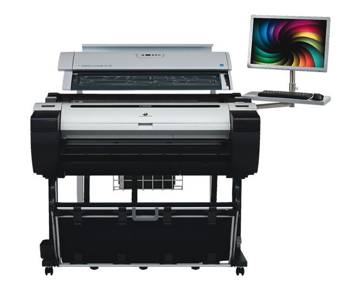 Canon  M85 MFP Large Format Scanner and Printer, 36in