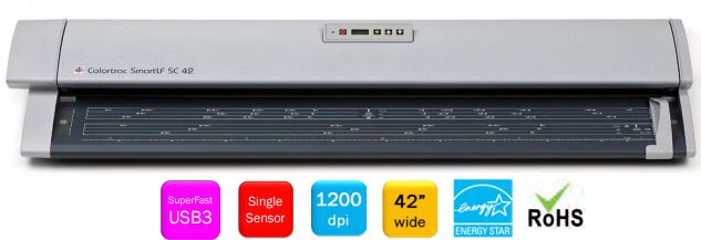 Colortrac SmartLF SC 42 Large Format Scanner (42 inch)