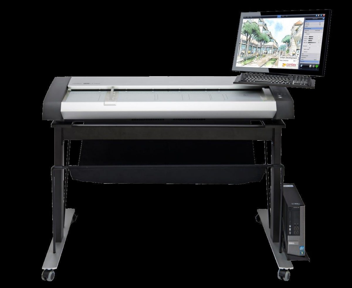 Contex HD Ultra X 6000 ScanStation Pro MFP-ready Large Format Scanner Series