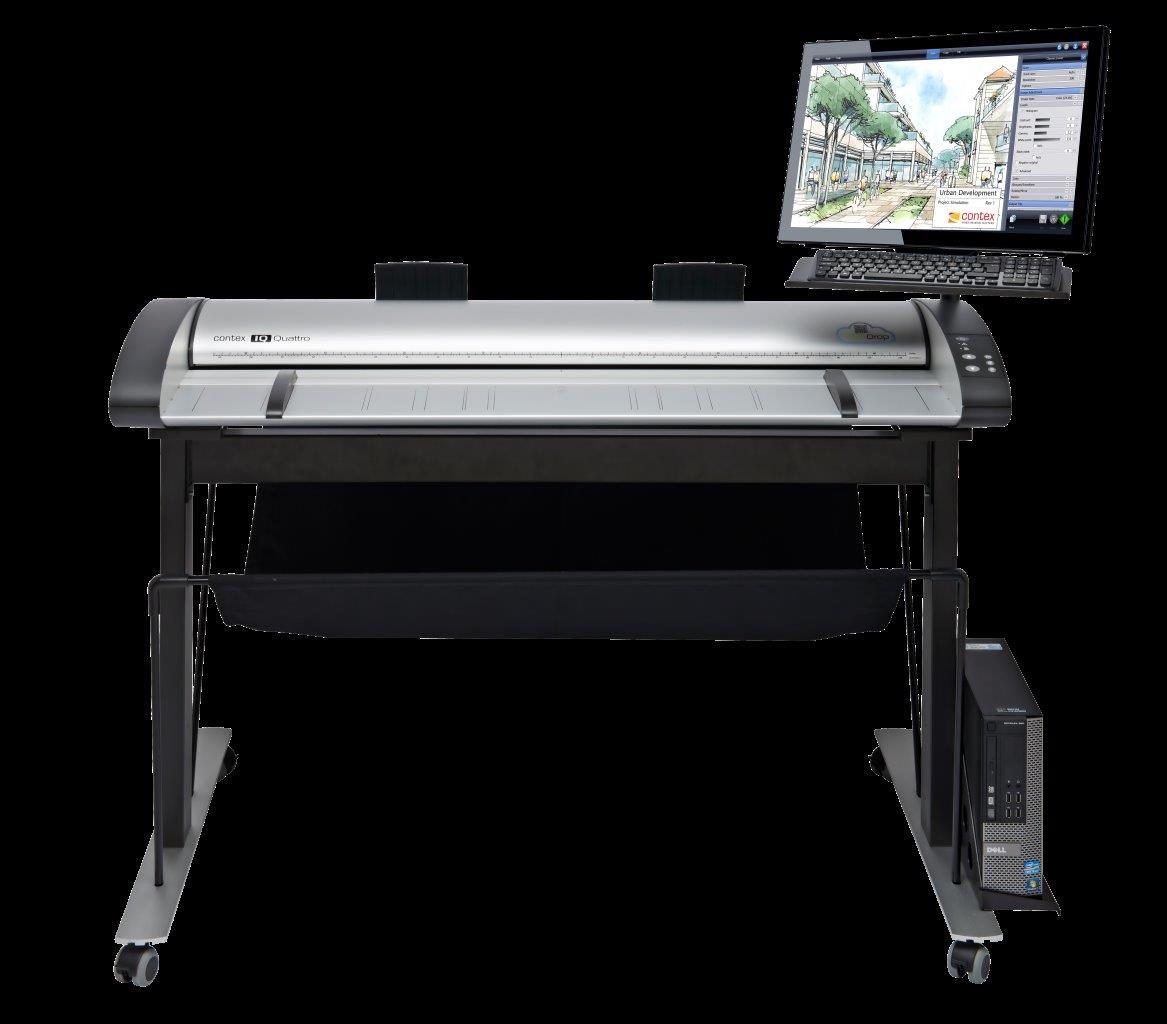 Contex IQ Quattro 4400 ScanStation Pro MFP-ready Large Format Scanner Series