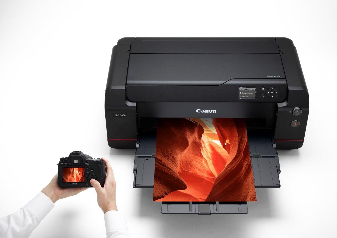 canon imageprograf pro 1000 17in a2 12 colour printer design supply ltd