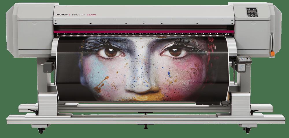 Mutoh ValueJet VJ-1638X (64 inch) Sign & Display Large Format Printer