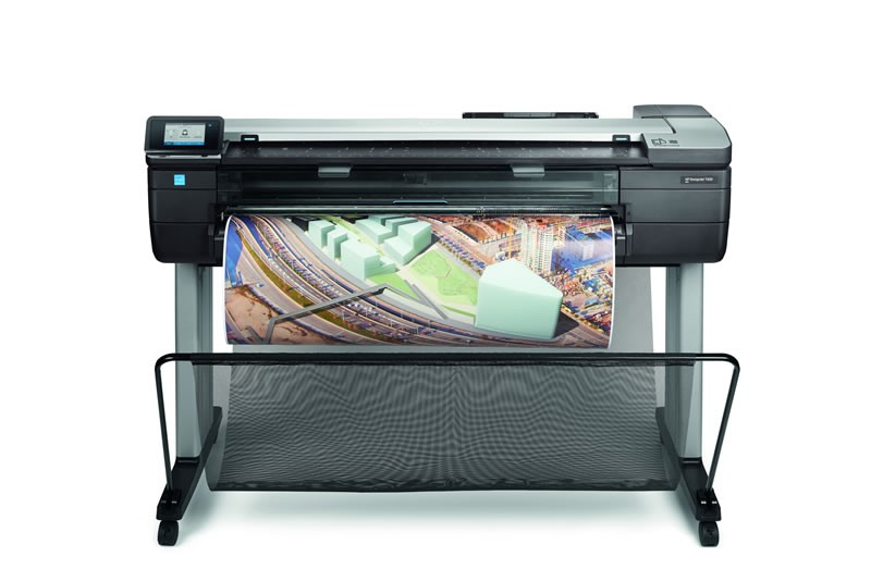 HP DesignJet T830 (36in/ 914mm) A0 MFP Large Format Printer – Scan, Print and Copy