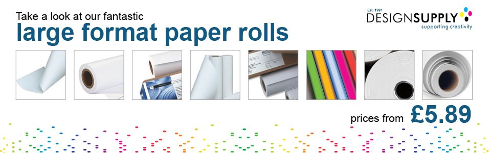 Large Format Paper Rolls