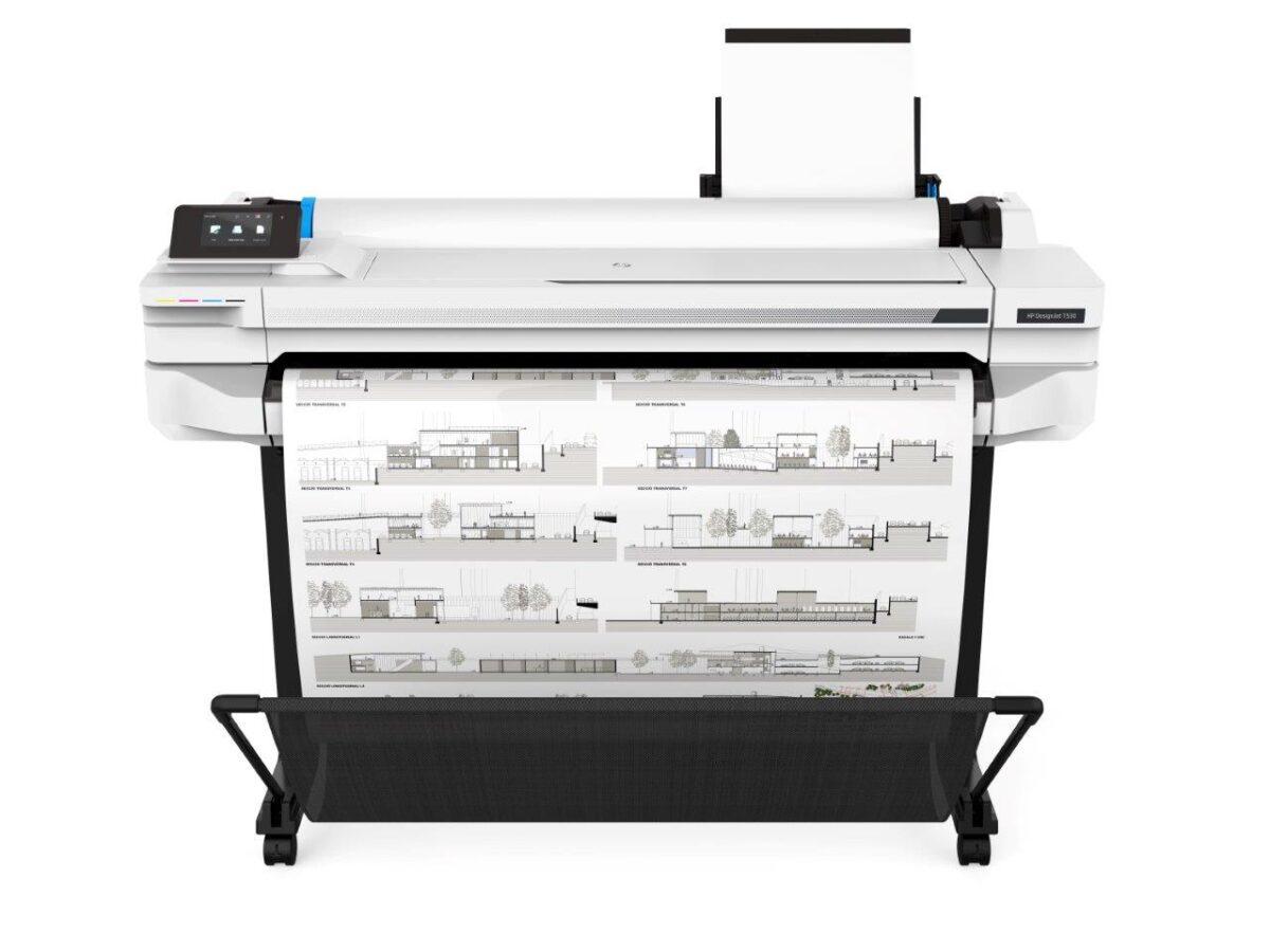 HP DesignJet T530 (914mm/36in) A0 Large Format Printer