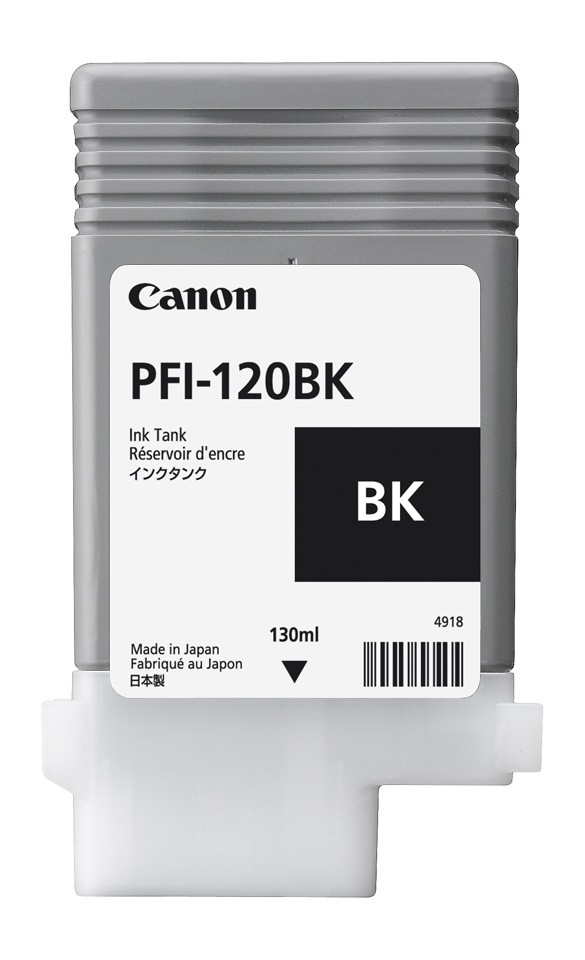 Black Ink Tank 130ml – PFI-120(BK)
