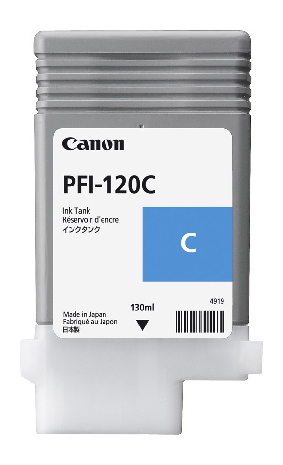 Cyan Ink Tank 130ml – PFI-120(C)