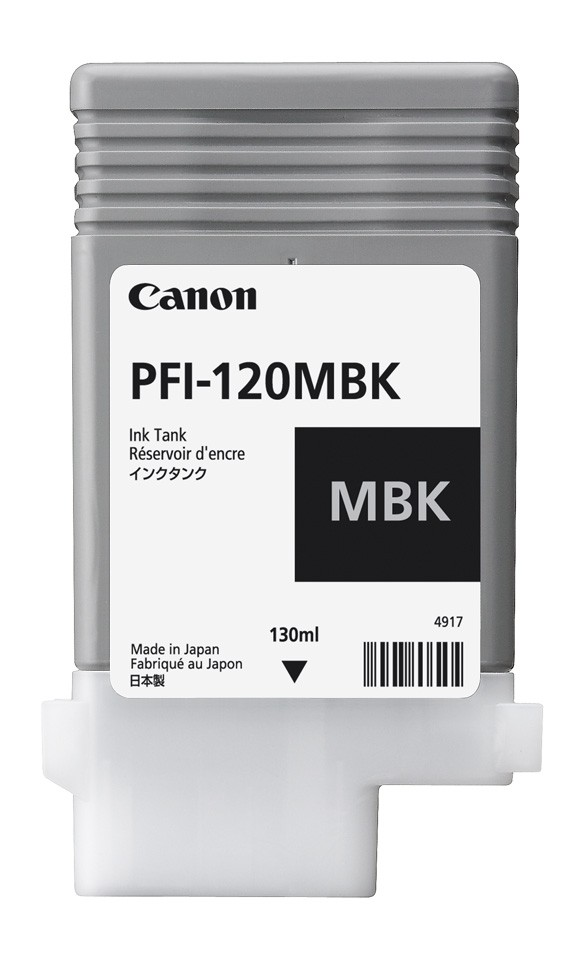 Matte Black Ink Tank 130ml – PFI-120(MBK)