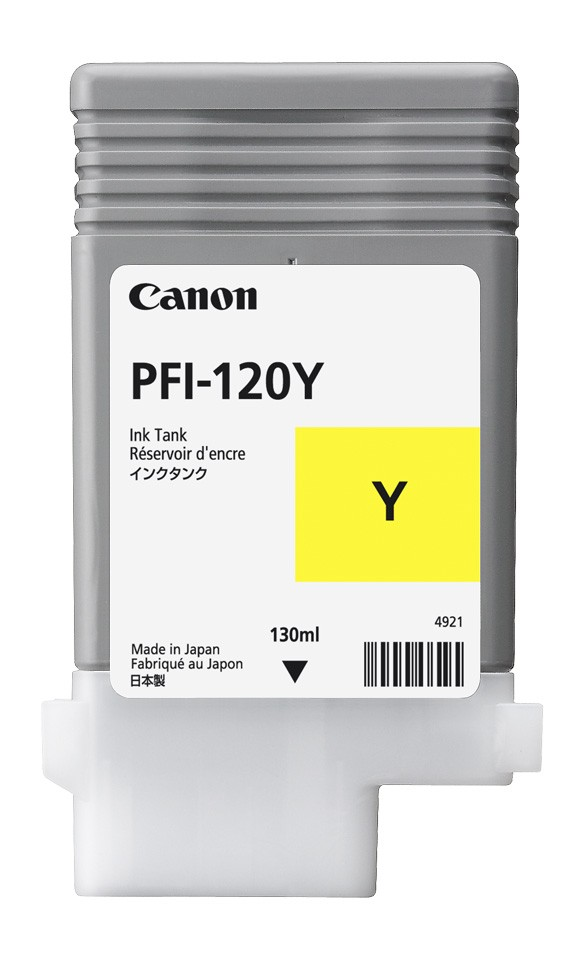 Yellow Ink Tank 130ml – PFI-120(Y)
