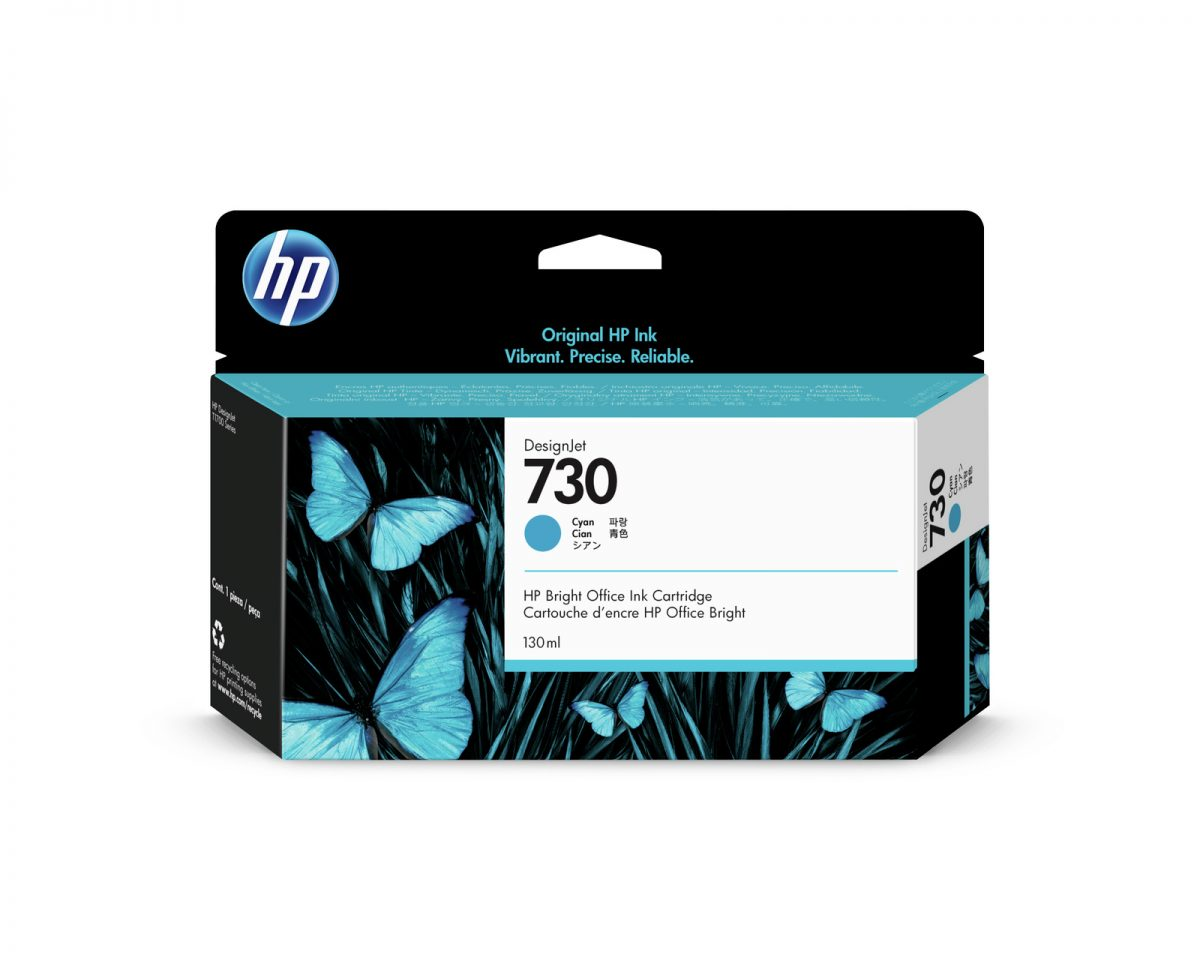 No. 730 Cyan Ink Cartridge – 130-ml