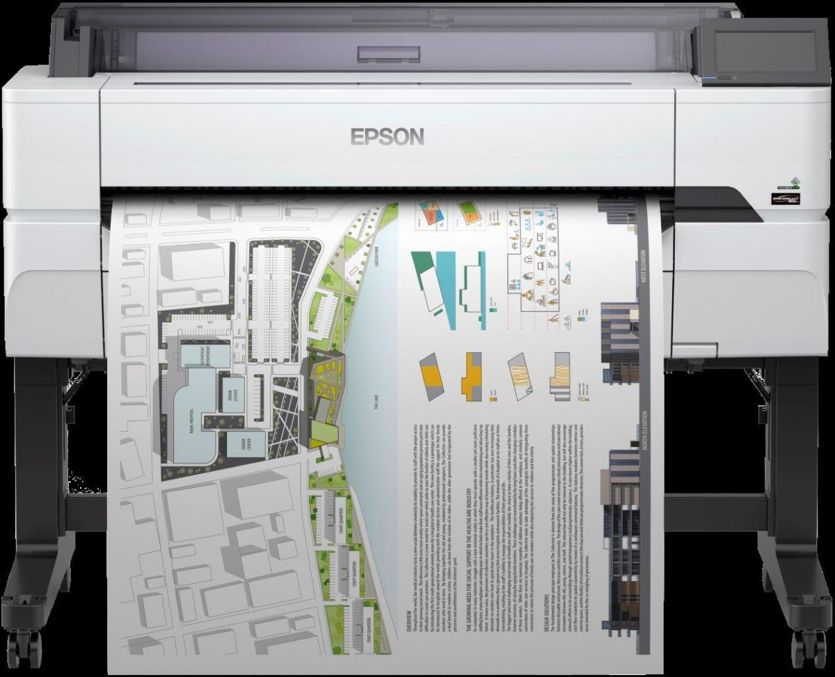Epson SureColor SC-T5400 (36in/914mm)A0 Large Format Printer