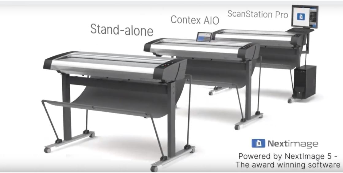Contex HD Ultra X Series Large Format Scanners (36, 42 and 60 inch)