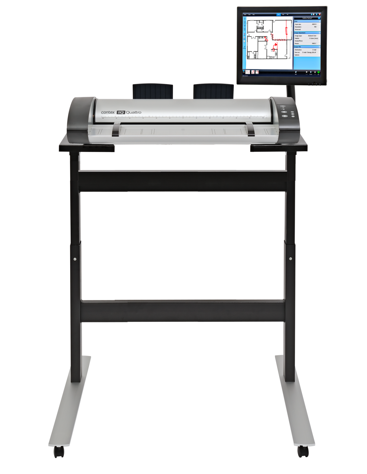 Contex IQ Quattro 24 MFP Repro Large Format Scanner Solution