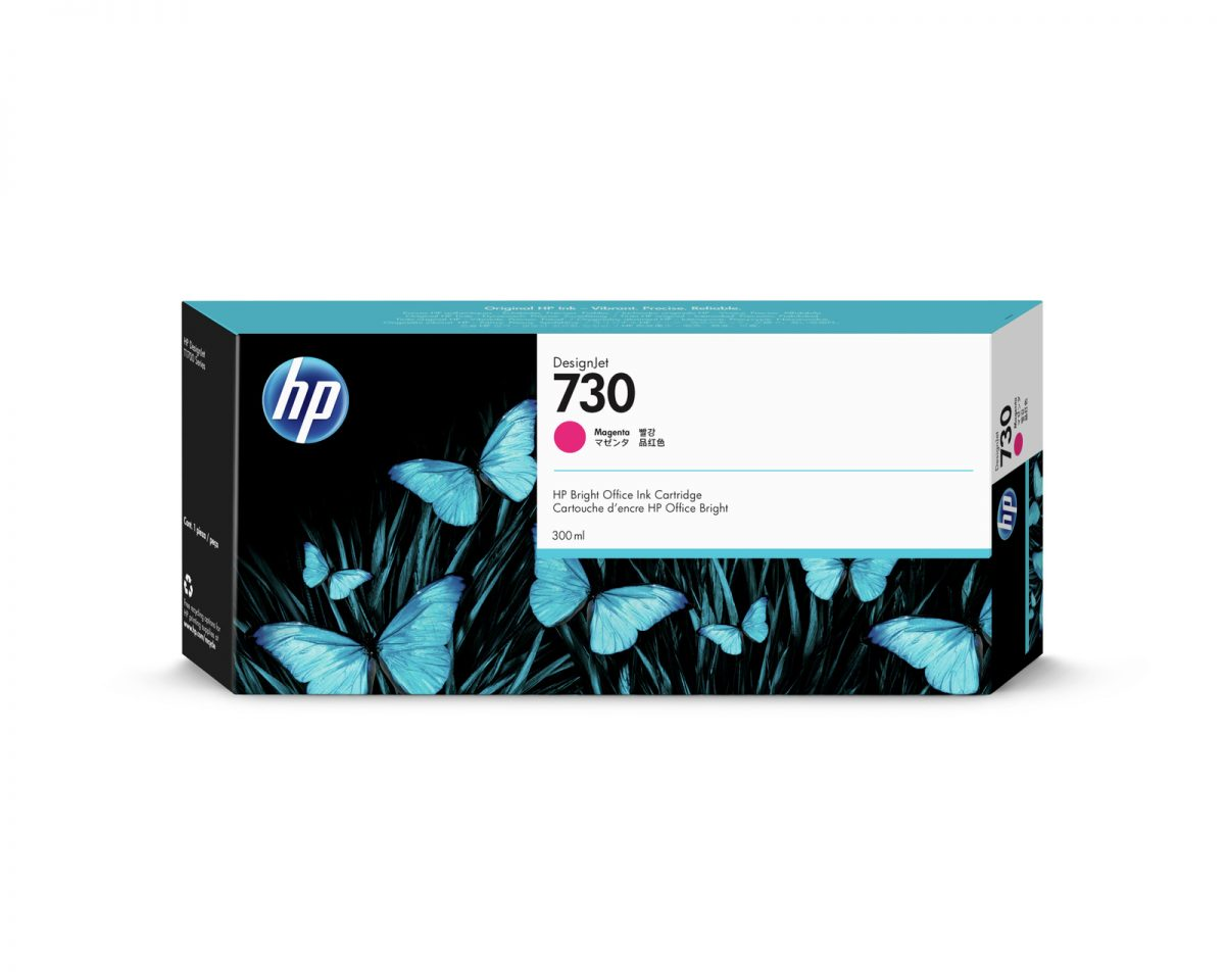 No. 730 Magenta Ink Cartridge – 300ml