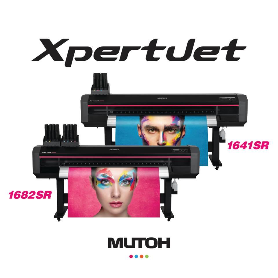 Mutoh XpertJet 1682SR (64 inch) Sign & Display Large Format Printer with 30kg Take Up