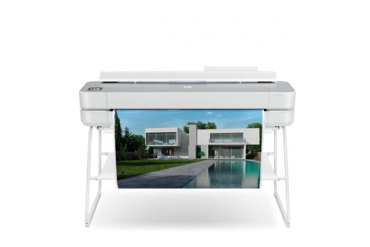 HP DesignJet Studio Steel Large Format A1 Printer
