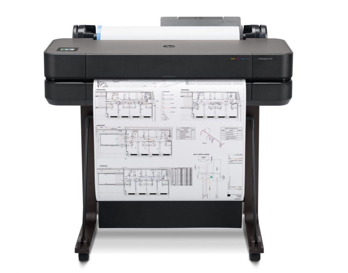 HP DesignJet T630 Large Format A1 Printer
