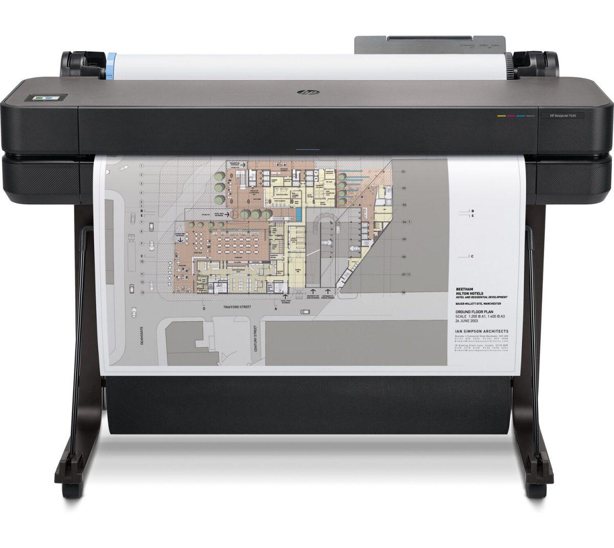 HP DesignJet T630 Large Format A0 Printer